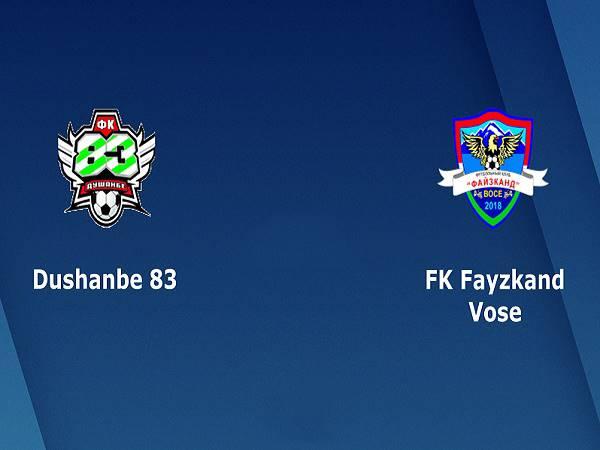 Nhận định kèo Dushanbe-83 vs Fayzkand, 18h30 ngày 18/4