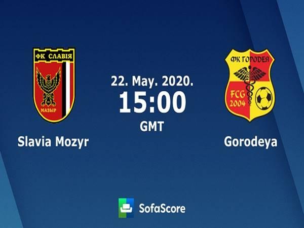 Nhận định Slavia Mozyr vs Gorodeya, 22h00 ngày 22/05