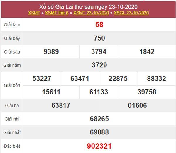 Dự đoán XSGL 30/10/2020 thứ 6 hôm nay chính xác nhất