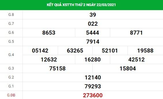 Dự đoán kết quả XS Thừa Thiên Huế Vip ngày 29/03/2021